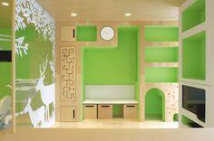 在這裡拔智齒感覺比較不痛的日本兒童牙醫診所❤ pic via naoki terada's architecture