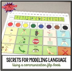 The difficulty with verbal language for many children with language disorders is that it is fleeting and invisible. Communication boards make that language visual, permanent, and give clear delinea…
