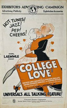 College Love (1929) Stars: George J. Lewis, Eddie Phillips, Dorothy Gulliver ~ Director: Nat Ross