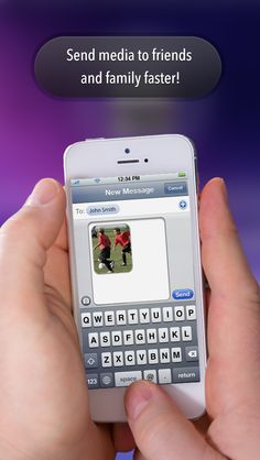 Send media to friends and family faster! repinned by #snapshotcards snapshotpostcard.com