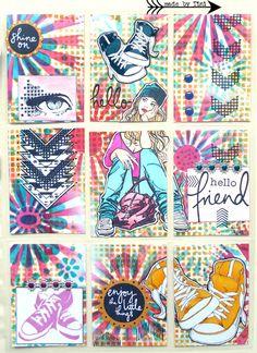Arts by Tini: My Pocket Letters; June 2015  #pocketletter