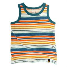 Lucky Brand Infant Boy Striped Tank Top #VonMaur #LuckyBrand #Multicolored #Stripes