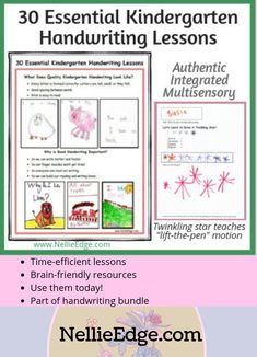 Lessons & printables for best handwriting practices! Authentic, multisensory approach to handwriting. The most TIME-EFFICIENT, BRAIN-FRIENDLY way to plant lifelong habits. Build stamina & fluency for Writing Workshop. Writing Lab, Writing Workshop, Writing A Book, Hand Writing, Kindergarten Handwriting, Kindergarten Writing, Nice Handwriting, Handwriting Practice, Real Teacher