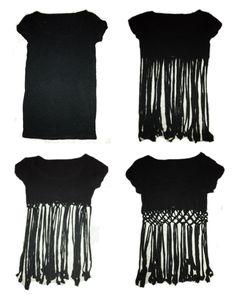 T-Shirt DIY @Alissa Evans Evans Evans Evans Elliott for dancefestopia!