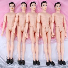 3pcs-Modern-Barbie-Doll-Male-Dolls-14-Joint-Body-Head-for-Kids-Birthday-Gifts