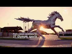 O novo centro de treinamento olímpico X-bionic Sphere