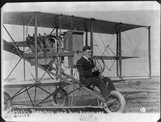"Lincoln Beachey- ca. 1912- He was a pioneer American aviator and barnstormer. He became famous and wealthy from flying exhibitions, staging aerial stunts, helping invent aerobatics, and setting aviation records.[1]  He was known as The Man Who Owns the Sky, and sometimes the Master Birdman.[2] Beachey was acknowledged even by his competitors as ""The World's Greatest Aviator"".[2] He was ""known by sight to hundreds of thousands and by name to the whole world."""