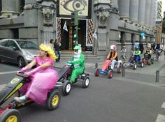 What Mario Kart Would Look Like In Real Life...