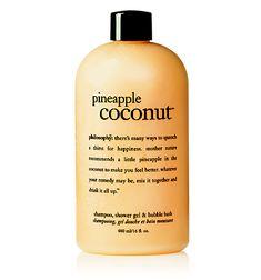 Philosophy Pineapple Coconut shampoo/shower gel