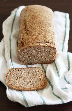 Prosty chleb orkiszowy na zakwasie