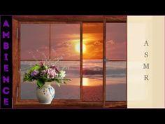 ASMR Ambience Sonnenuntergang, Meer, Wellenrauschen~Sunrise, Sea, Wave S. Angst, Asmr, Glass Vase, Sunrise, Waves, Painting, Decor, Falling Asleep, Sunset