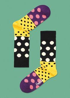 Happy Socks Dots Split