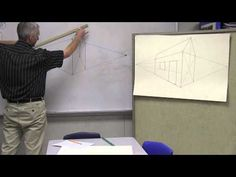 Art instruction for children 2 point perspective ( house) PART 1 OF PERSPECTIVE SERIES - YouTube