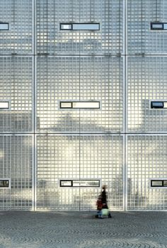 Frosted glass - Academy of Art and Architecture, Maastricht -  Wiel Arets Architecture