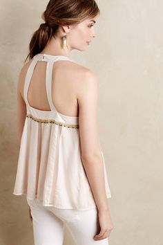Beaded Pia Tank by Floreat #anthrofave #anthropologie