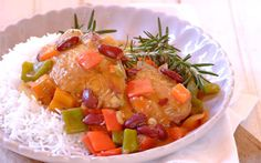 Rosemary Chicken with Peppers recipe   Poultry recipes   Whats For Dinner
