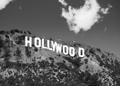 photo black white Retro Glamour Hollywood Sign Black and White Photograph, Original Fine Art Photography Details: Title: Hollywood Black & White Size: Variable, please select from dr Black And White Picture Wall, Black And White Wallpaper, Black And White Pictures, Photo Black, Black White, Gray Aesthetic, Black Aesthetic Wallpaper, Black And White Aesthetic, Preto Wallpaper