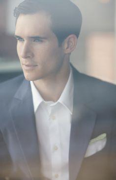 handsome groom portrait photo by STUDIO 1208