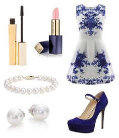 A fashion look from July 2015 featuring white a line dress, stiletto pumps and earrings. Browse and shop related looks. Violetta Outfits, Casual Styles, Date Outfits, What To Wear, Summer Dresses, Shoe Bag, Polyvore, Collection, Shopping
