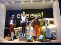 J Crew, Christmas Windows, VM, Display, 2013, London