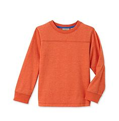 Product: Ruff Hewn Boys' 2T-7 Long Sleeve Crew Neck Tee