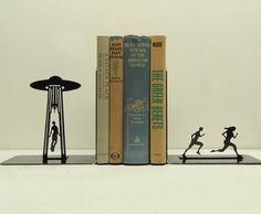 """Another one that could go under """"I Wish I Had Thought of This.""""  The closest I had seen to bookends like this were the """"a"""" and """"z"""" bookends Bob Hartley had on his shelf on The Bob Newhart Show!  Love this!"""