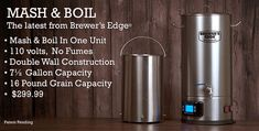 Ends Today: Mash & Boil System from William's Brewing – $269.99 + Hands on Review #homebrew