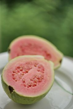 View top-quality stock photos of Food Porn. Find premium, high-resolution stock photography at Getty Images. Guava Fruit, Pink Guava, Burfi Recipe, Banana Slice, Fruit Garden, Summer Fruit, View Image, Vegan Recipes, Vegan Meals