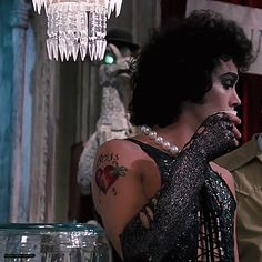 Sweet Transvestite- Rocky Horror Picture Show Rocky Horror Show, The Rocky Horror Picture Show, Rocky Horror Costumes, Theatre Nerds, Theater, Classic Movie Posters, Good Movies, Science Fiction, Besties