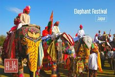 Elephant Festival Jaipur is an annual event that is celebrated during Holi in Rajasthan. Take part in this colourful festival where beautifully-decorated elephants are the main highlight. Folk dance performances and other events are equally entertaining.
