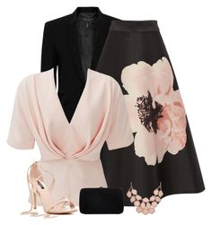 Pink and black Pink Outfits, Sergio Rossi, Streetwear Brands, Luxury Fashion, Polyvore, Shopping, Black, Dresses, Google Search