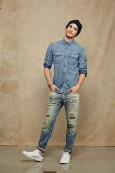 American Eagle S/S'15 Men's Lookbook - http://denimology.com/2014/11/american-eagle-ss15-mens-lookbook