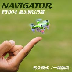 Mini Drone Pocket Quadrocopter FY804 4CH 2.4G 6Axis 360 Degree Roll Helicopter LED Plane Model Toys RC Helicopter 2.2cm Drone //Price: $22.78//     #onlineshop