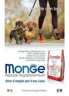 Monge Natural Superpremium - In autunno correte con loro