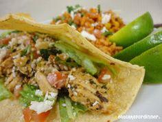 Eat Cake For Dinner: Easy Weeknight Chicken Tacos