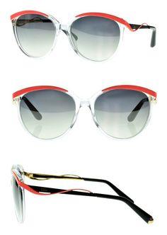 5a5a2a1fc41 Dior 6OC Crystal Clear Metaleyes1 Cats Eyes Sunglasses Lens Category 2   apparel  eyewear  christiandior  sunglasses  shops  women  departments