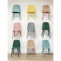 £329 Muuto - Nerd Chair Rose