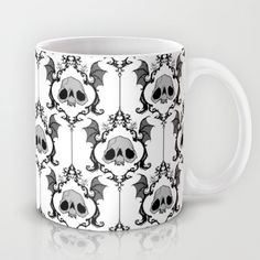 Buy Halloween Damask by Abigail Larson as a high quality Mug. Worldwide shipping available at Society6.com. Just one of millions of products available.