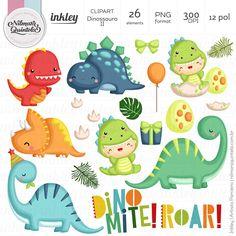 Clipart Dinossauro II – Nilmara Quintela Paper Designer. Cowboy First Birthday, Dragon Birthday, Dinosaur Birthday Cakes, Die Dinos Baby, Baby Dinosaurs, Word Pictures Art, Bugs Bunny Drawing, Dinosaur Printables, Baby Clip Art
