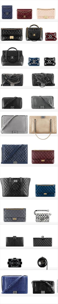 Chanel latest FW collection  http://thegoodbags.com/  ,,Oh. My. God. I ADORE this mk bags. save up to 75%