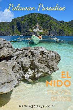 A comprehensive travel guide to El Nido, Palawan. Info on how to get there, where to stay and how to decide between the 4 island-hopping tours available.  #travel #palawan #philippines #elnido #travelguide #islands