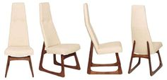 Dining Chairs by Adrian Pearsall, S/4