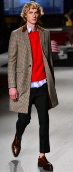 Prada Men's Autumn/ Fall 2014 coat