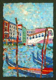 Mosaic - Rialto Bridge - Venice - by Sergey Maslennikov<3<3<3
