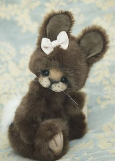 Three O'Clock Bears: Babette the Bunny available...