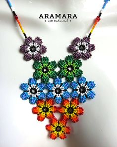 place to buy and sell all things handmade Your place to buy and sell all things handmade,Your place to buy and sell all things handmade, Mexican Huichol Beaded Blue Flower Necklace by Aramara Huichol Jewelry set Huichol necklace Mexican Necklace Seed Bead Patterns, Peyote Patterns, Beading Patterns, Seed Bead Necklace, Flower Necklace, Necklace Set, Crochet Necklace, Beaded Necklace, Art Perle