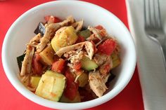 Stewed Summer Vegetables with Chicken (Low Carb and Gluten Free) - Holistically Engineered