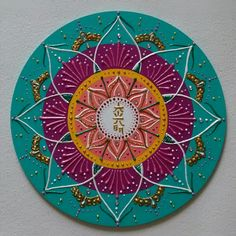 Mandala mdf Reiki Dai Koo Myo 30cm | Ateliê das Mandalas Portal dos Sóis | Elo7