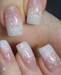 Are you looking for some cute nails desgin for this christmas but you are not sure what type of Christmas nail art to put on your nails, or how you can paint them on? These easy Christmas nail art designs will make you stand out this season. Christmas Nail Art Designs, Holiday Nail Art, Winter Nail Art, Winter Nails, Nail Art For Christmas, Christmas Stickers, Christmas Design, Winter Nail Designs, Christmas Ideas