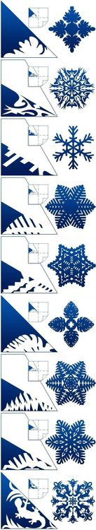 DIY Schemes of Paper Snowflakes DIY Projects / UsefulDIY.com on imgfave